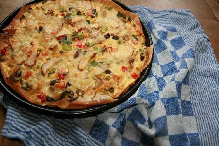 mexicaanse plaattaart pizza recept