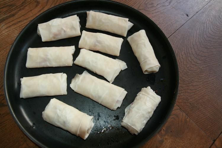 loempia's voor het bakken