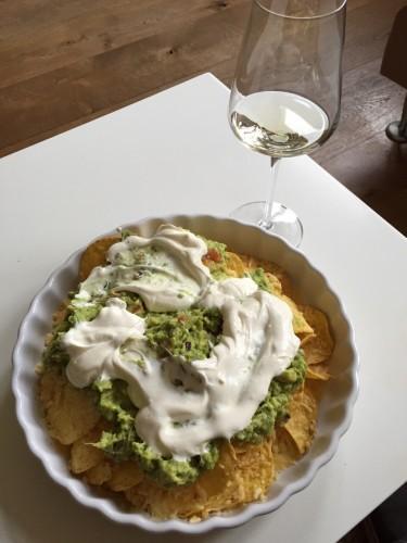 nacho's Nora style met guacamole