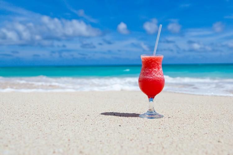 cocktail strand vakantie