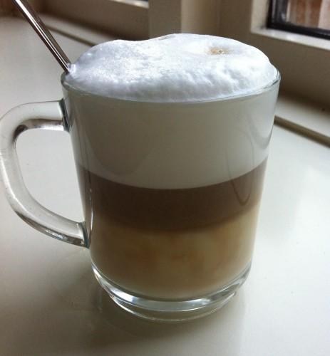 latte macchiato made by boyfriend
