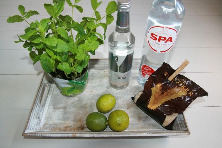 ingrediënten mojito cocktail