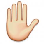 emoticon hand