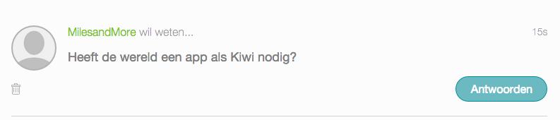 vraag het aan kiwi
