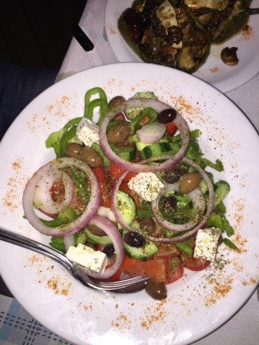 Griekse salade Ladofanaro zakynthos