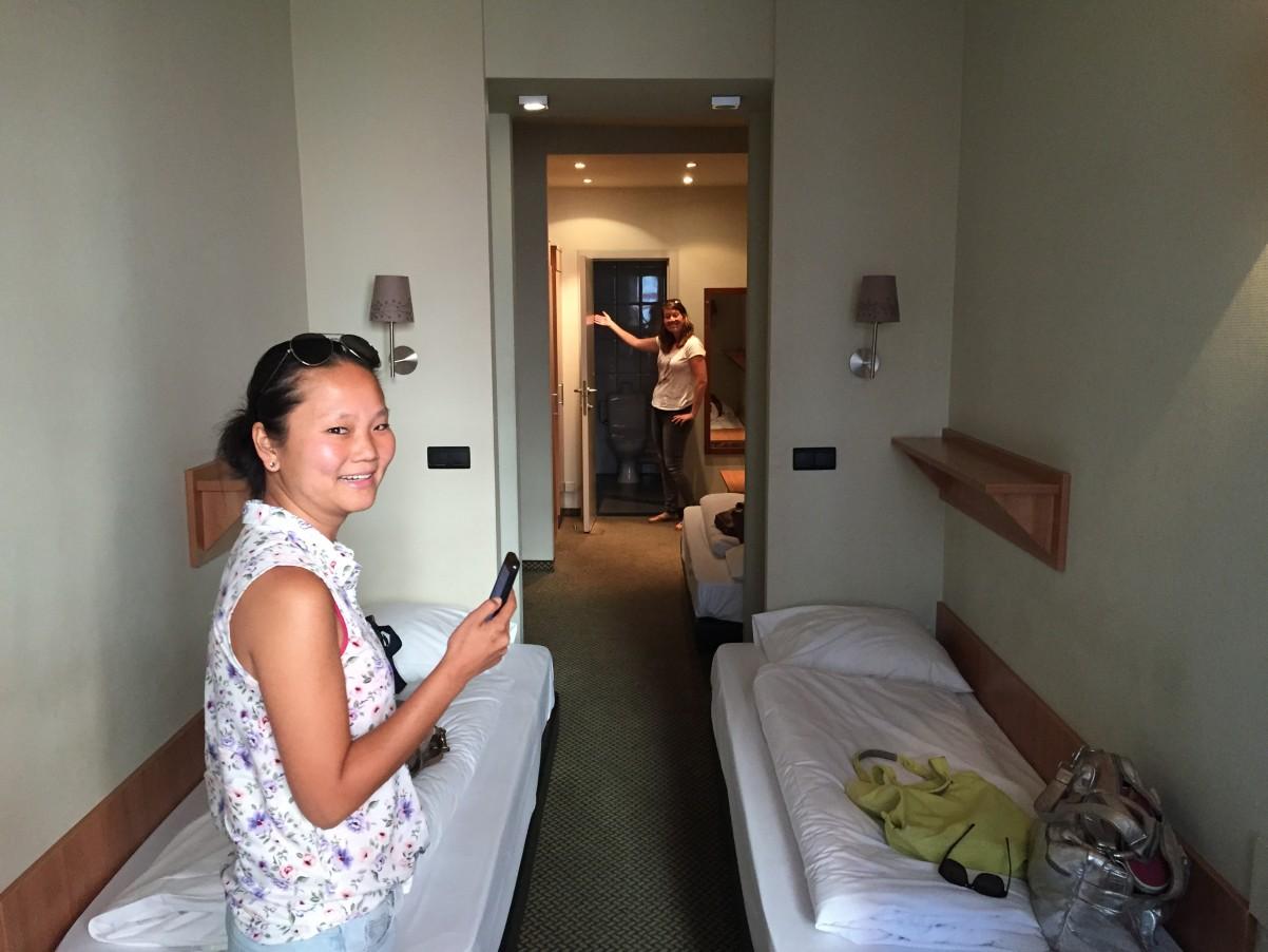 hotelkamer Century hotel Antwerpen minivakantie