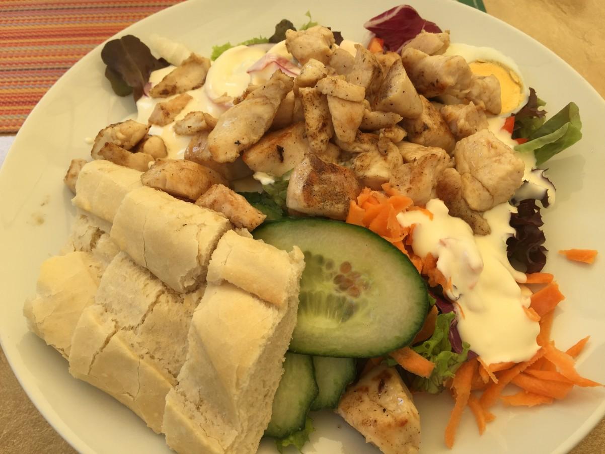 salade bij Tagwerk in sauerland Sundern