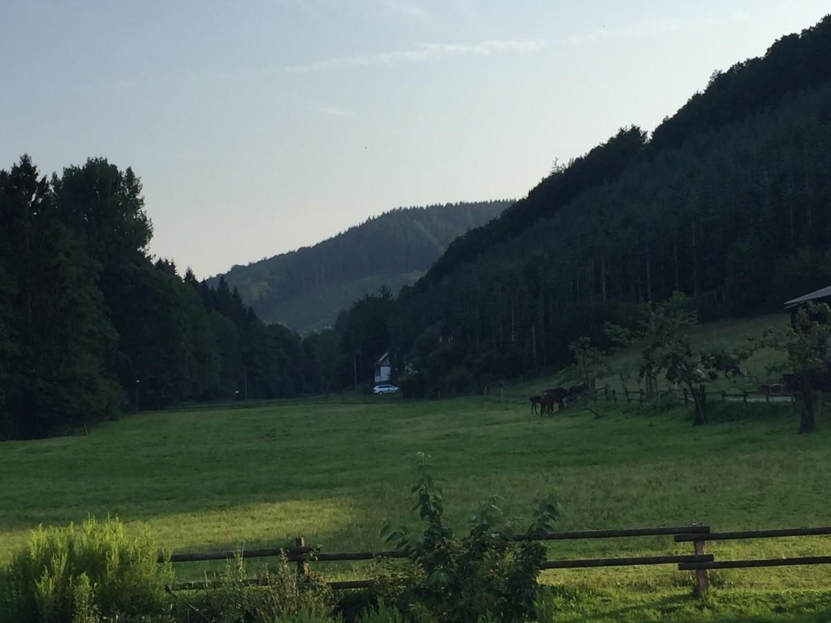 uitzicht vanaf Haus Berghoff