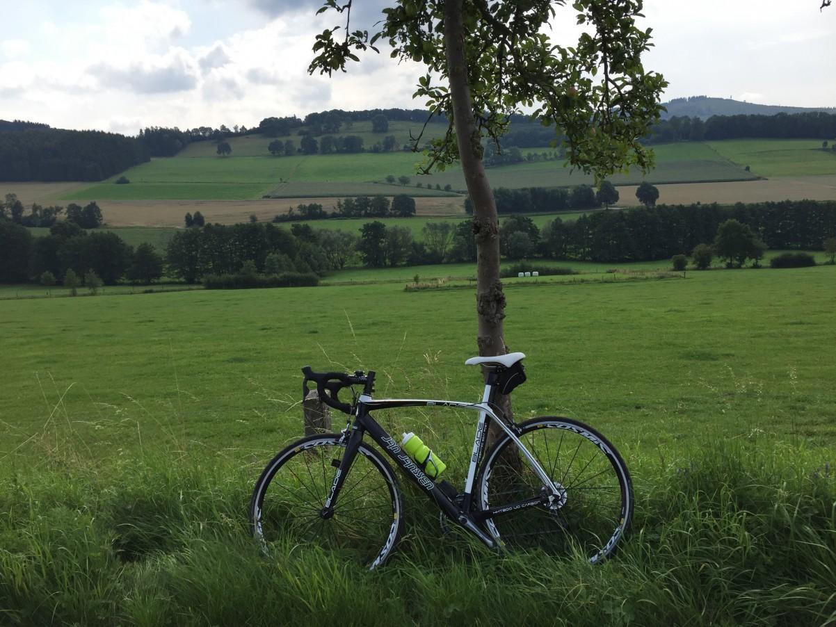 racefiets Sauerland fietsen wielrennen