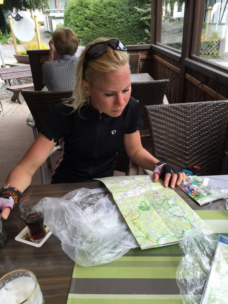 route zoeken Sauerland Duitsland wielrennen fietsen