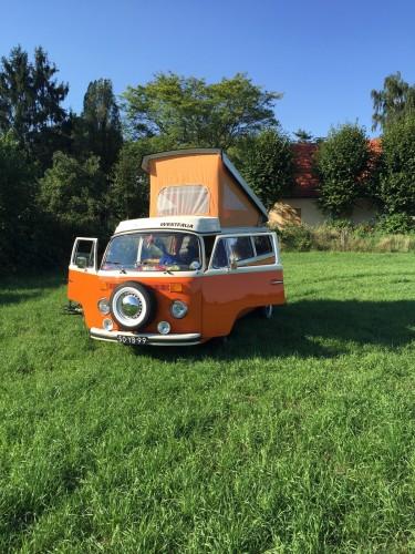 volkswagen busje Duitsland road-trip