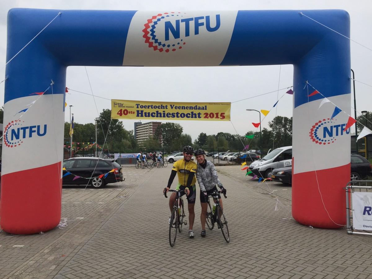 finishboog toertocht veenendaal NTFU 2015