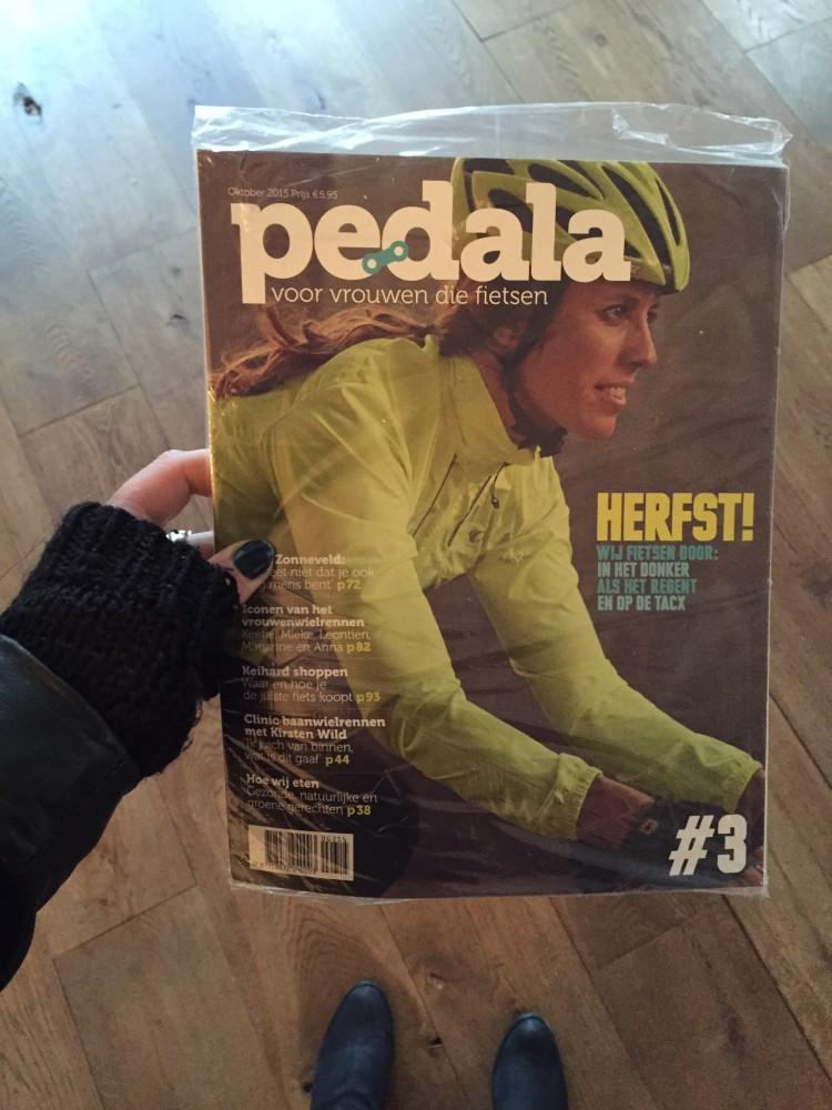 pedala magazine tijdschrift wielrennen vrouwen