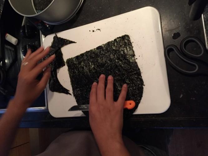sushi taart sushitaart milesandmore nori vellen knippen