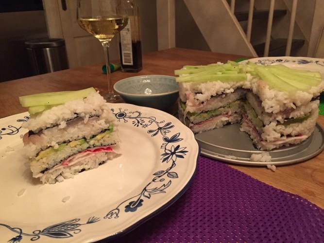 sushi taart sushitaart milesandmore taart opeten