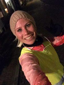 run selfie marathon voorbereiding week 5 Nora