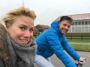 fietsen op Texel milesandmore marathon voorbreiding