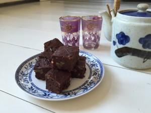 zwarte bonen brownies herstel hap marathontraining