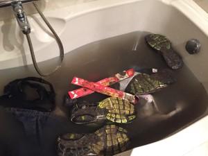mudmasters 2016 haarlemmermeer vieze kleding in bad