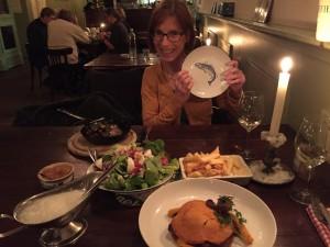 eten bij Aaltje met Gonda