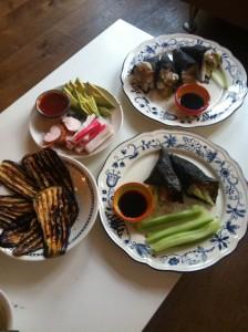 sushi zelfgemaakt marathon rotterdam