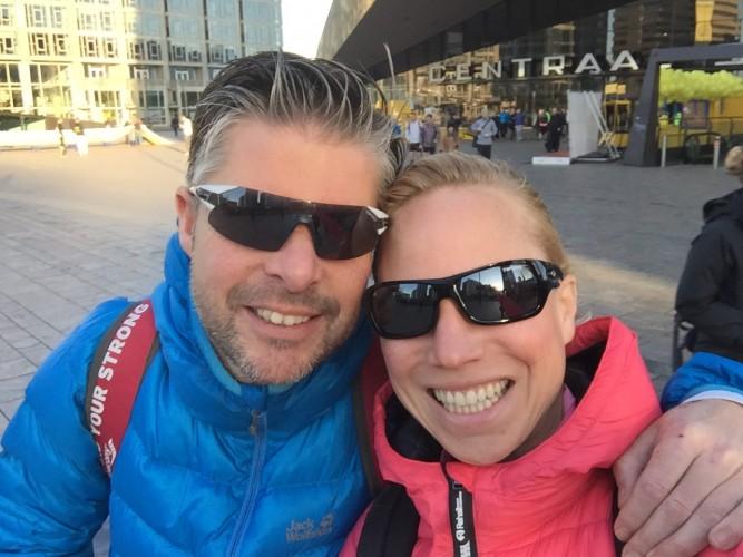 marathon rotterdam voor de start