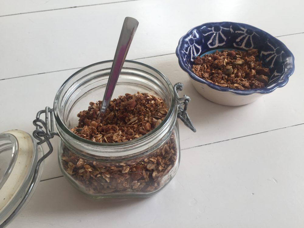 granola zelf maken recept