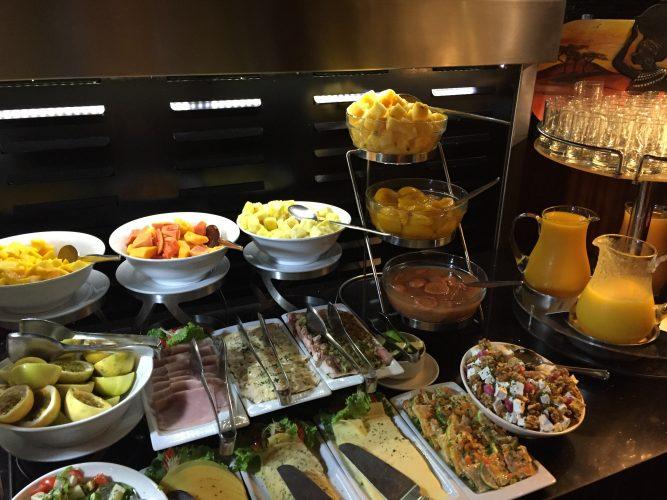 ontbijt buffet ghana hotel