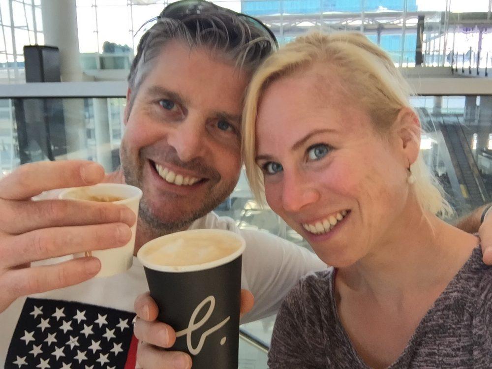 koffie Hongkong airport