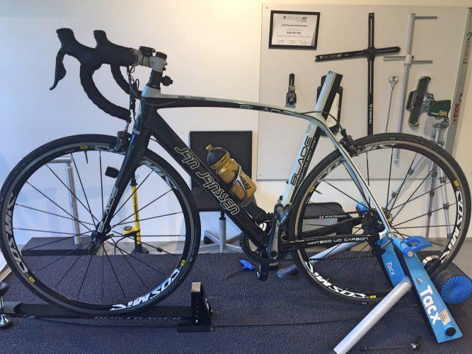 fiets zonder zadel bikefit