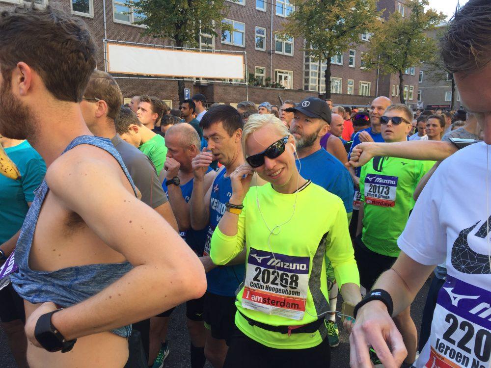 halve marathon Amsterdam 2016 startvak Miles&More