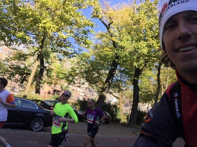 halve marathon Amsterdam 2016 Nora