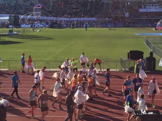 Olympisch Stadion halve marathon Amsterdam