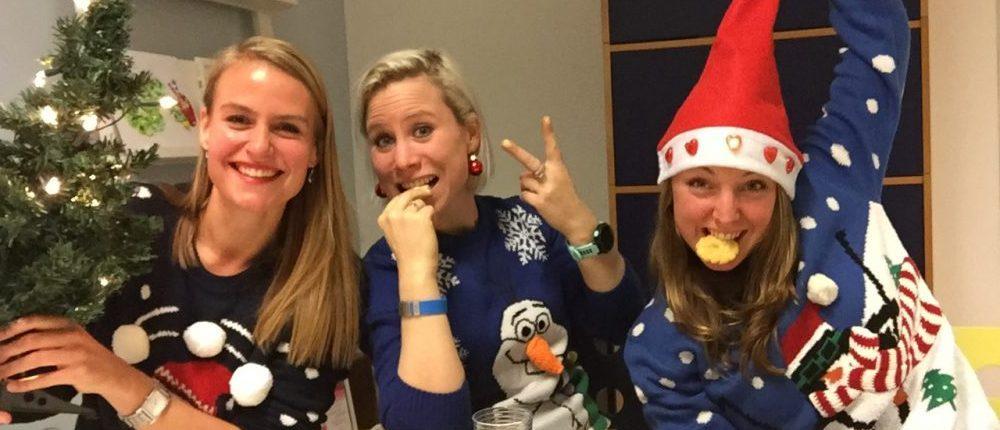 kerstkransjes test youtube in kersttrui