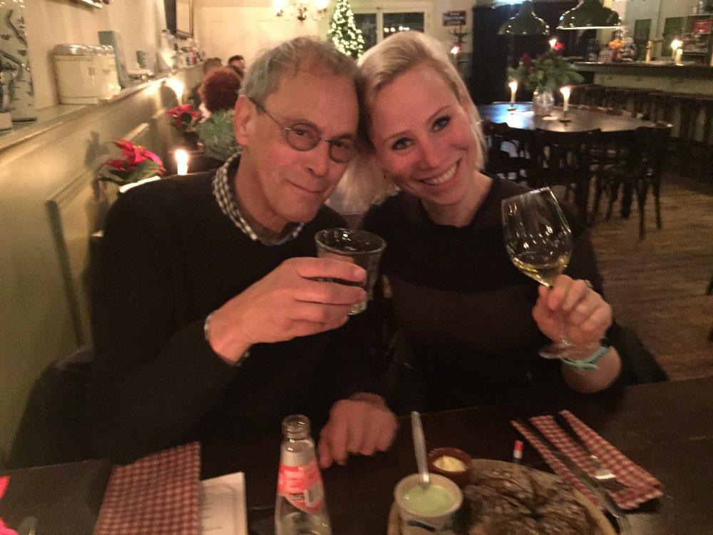 eten bij Aaltje kerst 2016 Nora Miles&More