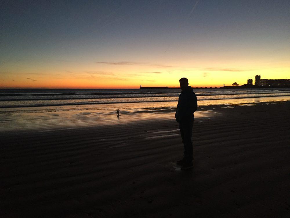 zonsondergang Les Sables d'Olonne Frankrijk vakantie