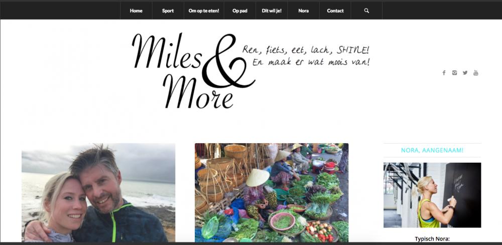 Sneak peak nieuwe site MIles&More