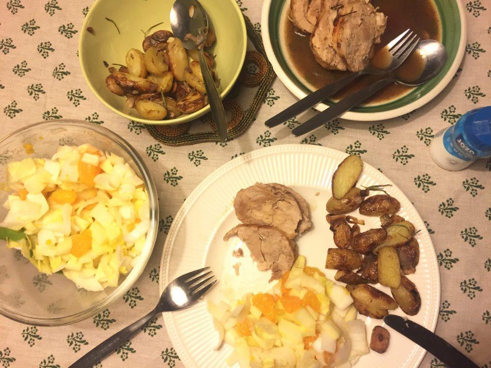 Ik kookte een AVG-tje voor oma en mij :-)