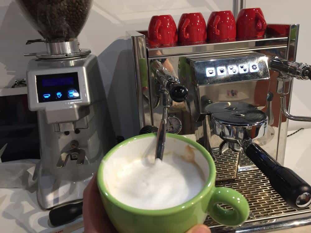 koffie op de Gezondheidsbeurs