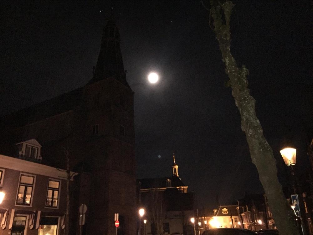 Grote kerk en jupiter