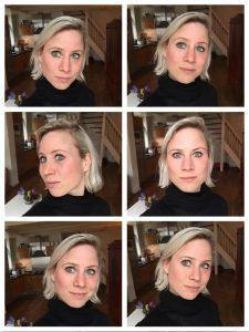 Selfie collage bij gebrek aan beter