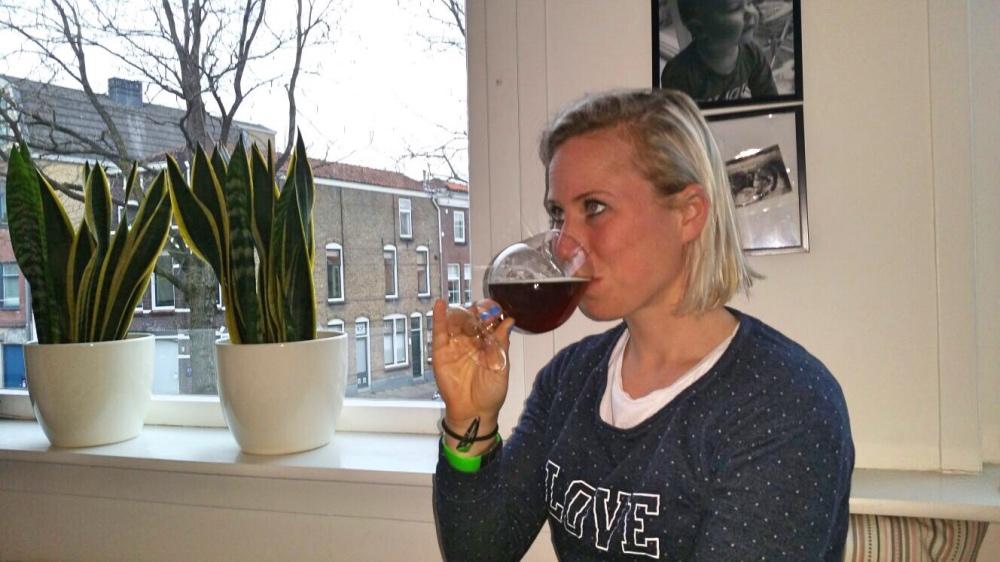 zelf gebrouwen bier proeven in Gouda