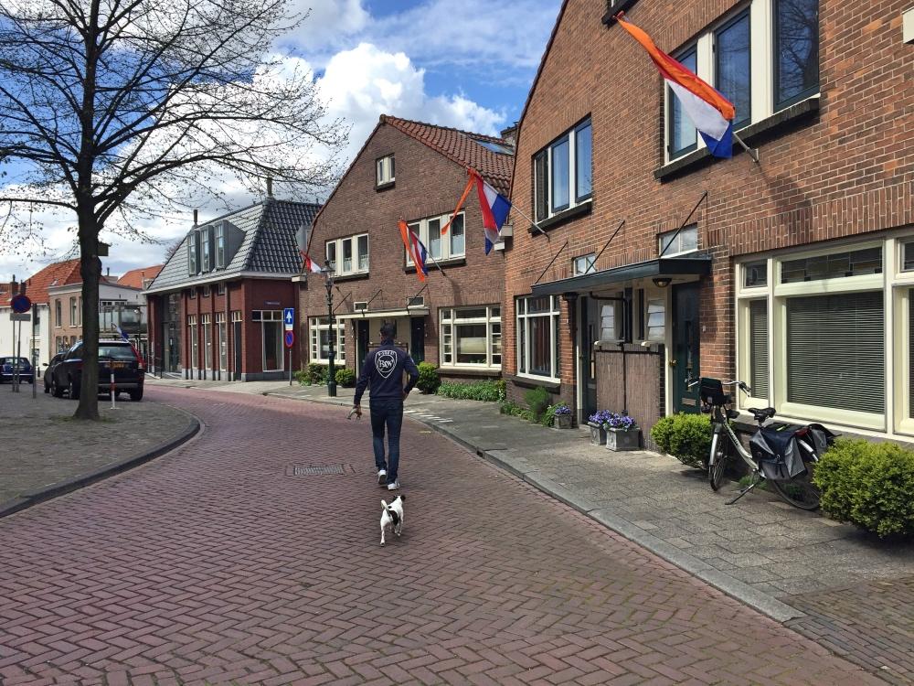 koningsdag lekker rustig in Weesp