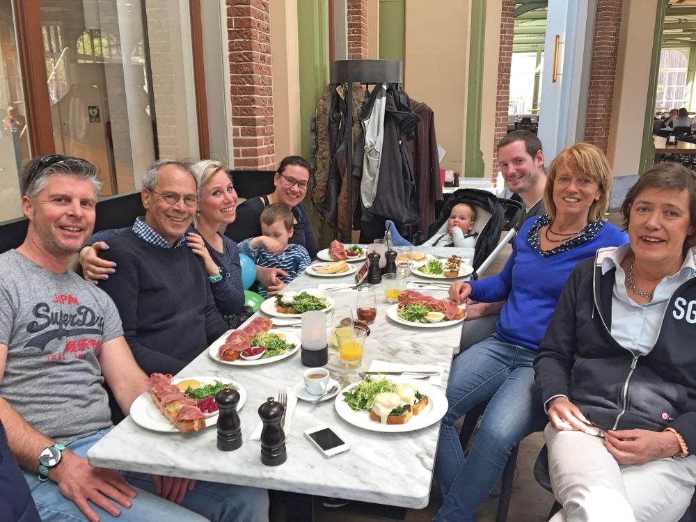 lekker lunchen bij Artis de Plantage