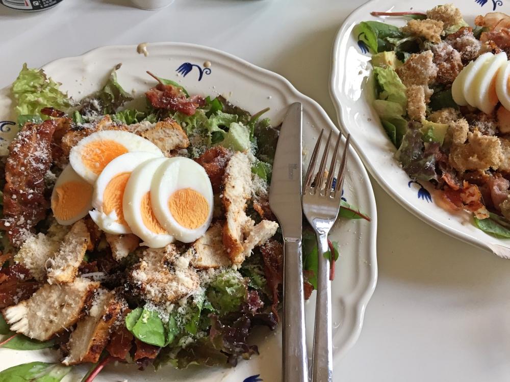 zelfgemaakte Ceasar Salade