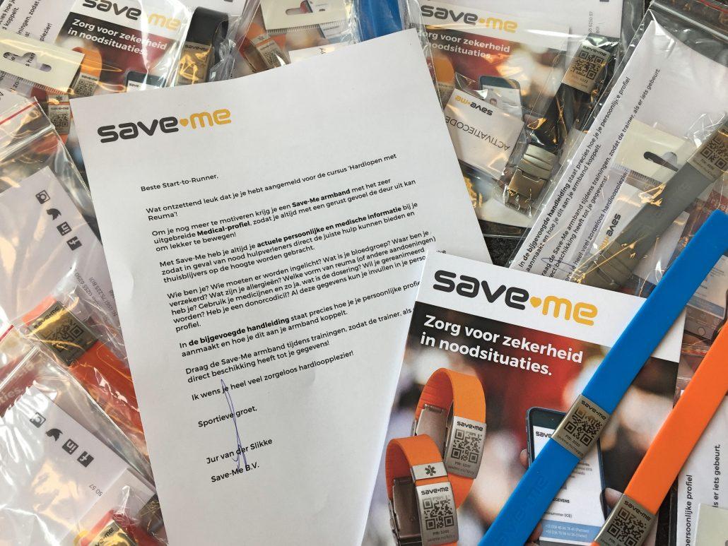 Save-Me voor Hardlopen met Reuma