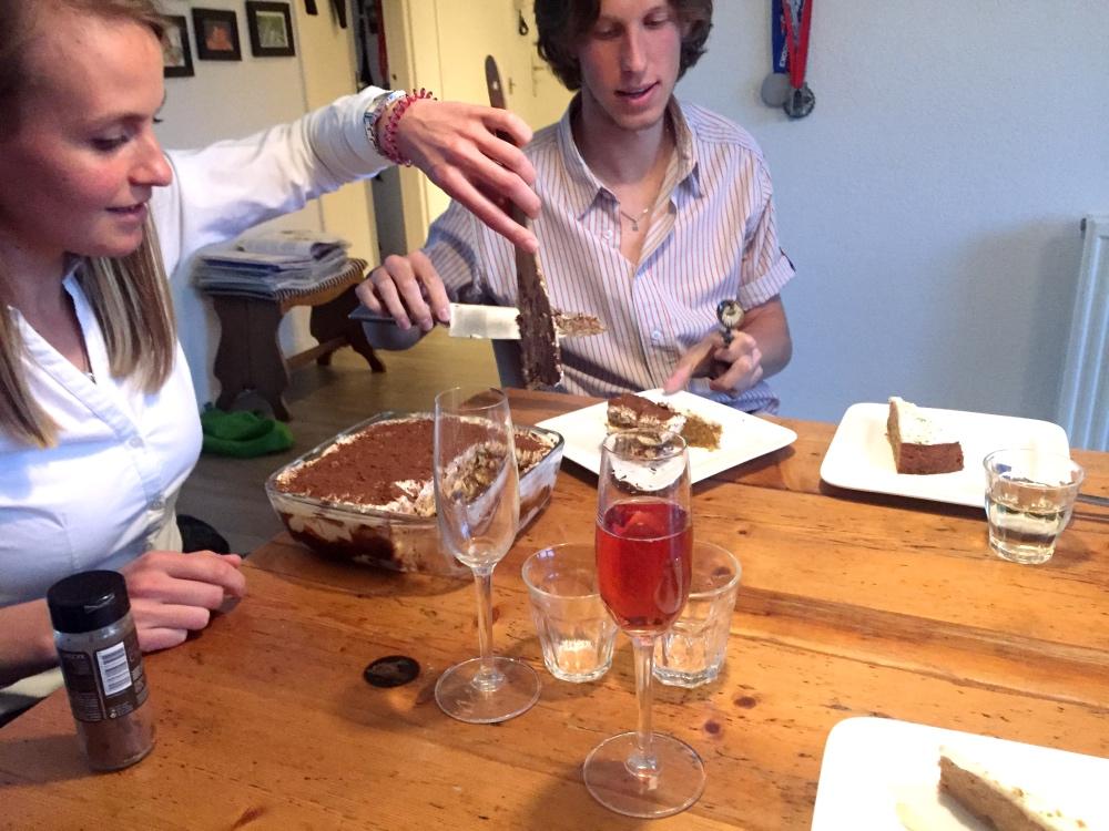 eten bij Marcel tiramisu van Lily