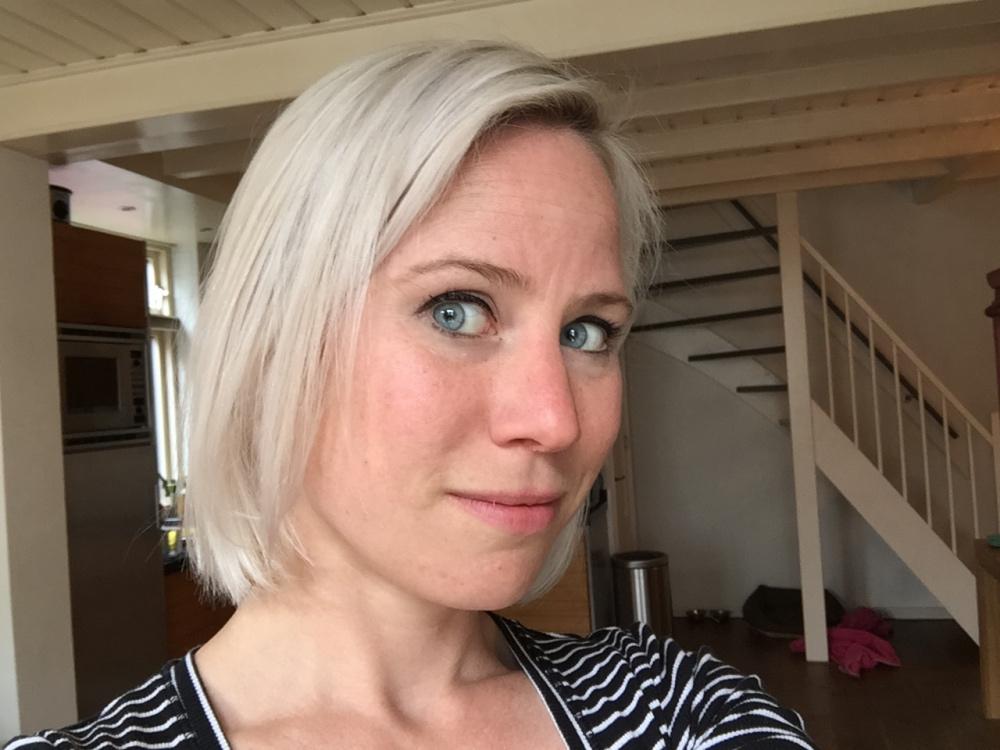 gelukkig nieuw haar!