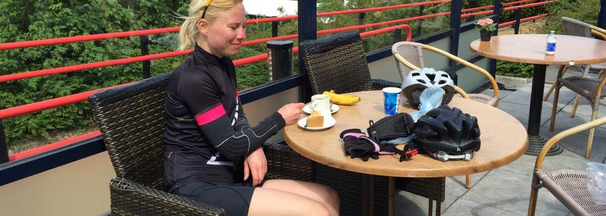 vieze koffie bij Cunera heuvelrug toertocht