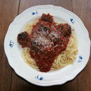 spaghetti met ballen homemade